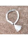 Bracelet argile blanche personnalisé