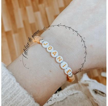 Bracelet argile camel personnalisé