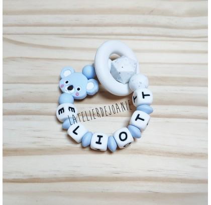 Anneau dentition koala bleu